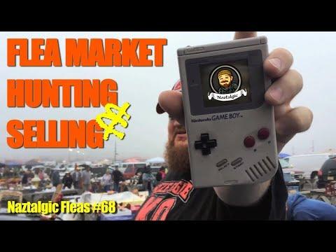 FLEA MARKET Hunting & Selling #68 (Retro Video Games, Vintage Toys, interesting people)
