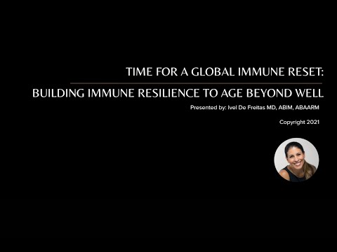 Healthcare Future Conference: Time For A Global Immune Reset