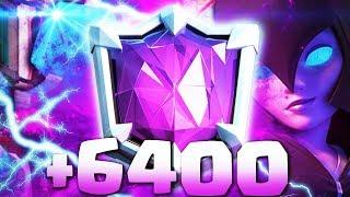 ¡¡ASÍ LLEGUÉ A +6400 COPAS EN CLASH ROYALE!! | UNBOXING SORPRESA!! TOP MUNDIAL [YoSoyRick]