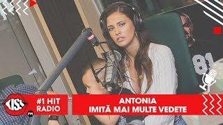Antonia imita mai multe vedete