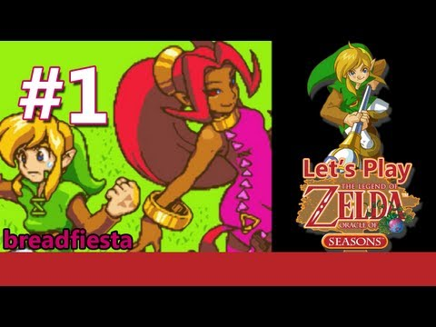 "Let's Play Legend of Zelda: Oracle of Seasons - #1: ""She's pretty attractive"""