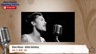 Blue Moon - Billie Holiday Vocal Backing Track
