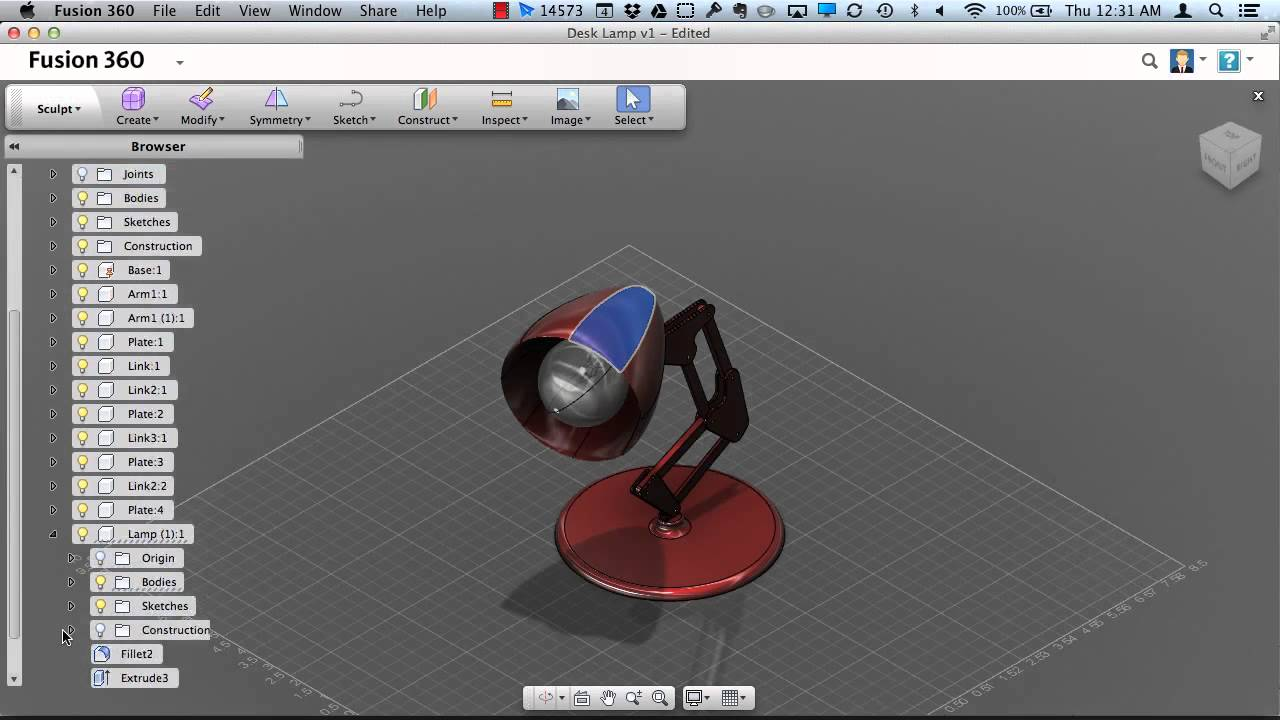 Fusion 360 Browser Enhancements | Fusion 360 | Autodesk