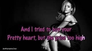 rihanna love on the brain karaoke instrumental