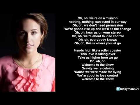 Britt Nicole - Welcome To The Show (Lyric Video) Christian Pop