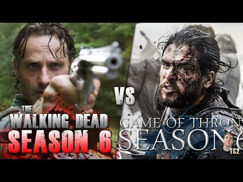 The Walking Dead Vs Game Of Thrones