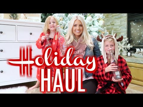 Target/Marshalls Holiday Haul | Rae Dunn Holiday, Xmas PJ's & Gift Wrap