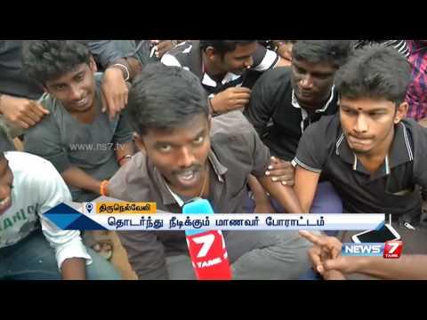 Jallikattu: Transgenders support college students protest in Tirunelveli | News7 Tamil