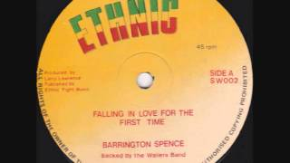 "Barrington Spence - Falling In Love For The First Time - 12"" + Dub"