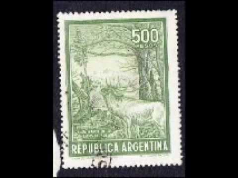 Rare Argentina stamps