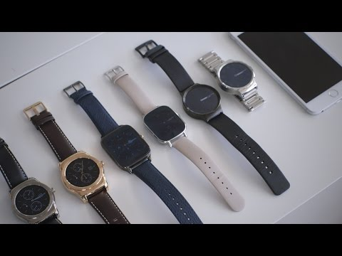 Android Wear watches on the iPhone: hands-on