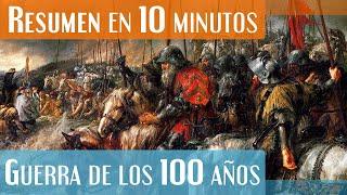 La Guerra de los 100 años en 10 Minutos!