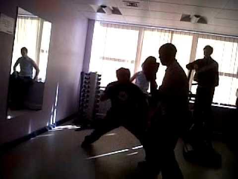 Josh Gooding Vs Kick Boxing Champion (Merv the Pow...