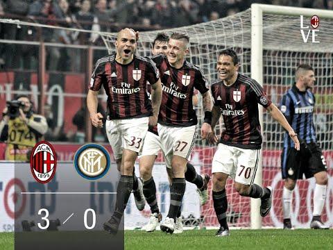 Milan - Inter 3-0 (Commento Carlo Pellegatti) 31.01.2016