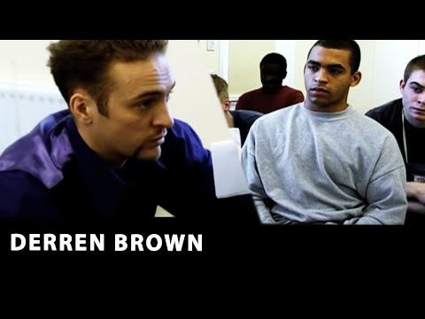 Derren Brown at Huntercombe Young Offenders Insititute