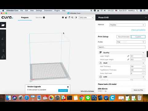 How to Add printer Profile Anycubic & ultimaker Cura 3 2