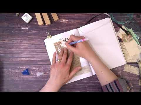 Plan with me   Bullet Journal Setup Mai 2021 Vintage Design