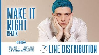 📌READ PINNED COMMENT📌 BTS feat. Lauv ~ Make It Right (Remix) ~ Line Distribution