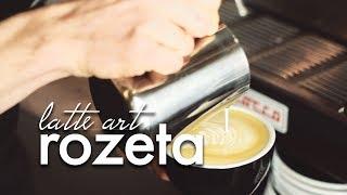 Latte art: ROZETA - poradnik dla początkujących. Czajnikowy.pl