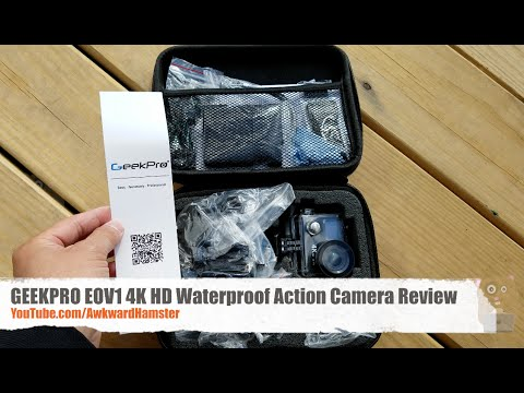 Geekpro Camera Review : Geekpro eov rf k hd waterproof action camera review cheap gopro