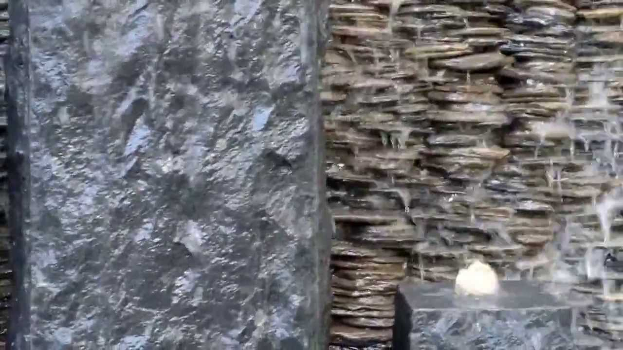 Weeping Wall And Stone Fountain Youtube