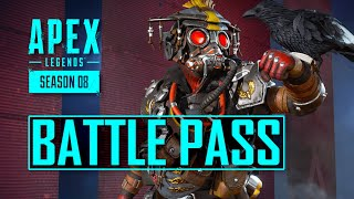 Season 8 Battle Pass Skins Apex Legends + New Trailer 'Good As Gold'