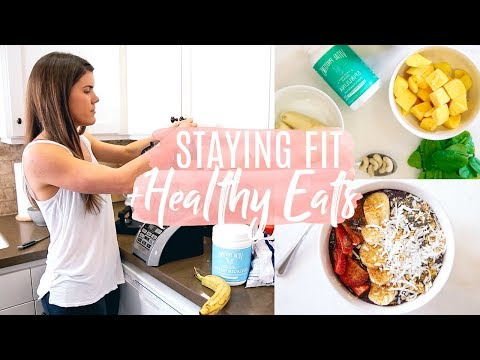 DAY IN THE LIFE | Healthy Eats + Fit Lifestyle