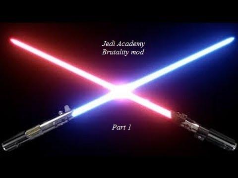 Star wars jedi academy: Brutality mod Part 1