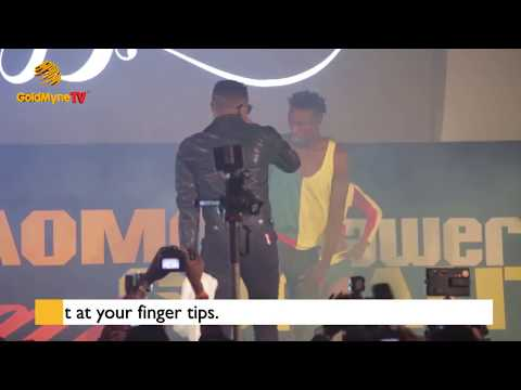 SUGARBOY AND KISS DANIEL COLLAB AT SUGARBOY'S BELIEVE ALBUM LAUNCH CONCERT