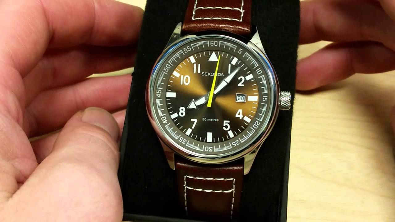 Sekonda Military Date Watch Review Youtube