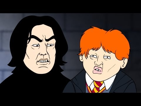 Wingardium Leviosa (Harry Potter Parody Animation) - Oney Cartoons