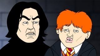 Repeat youtube video Wingardium Leviosa (Harry Potter Parody Animation) - Oney Cartoons