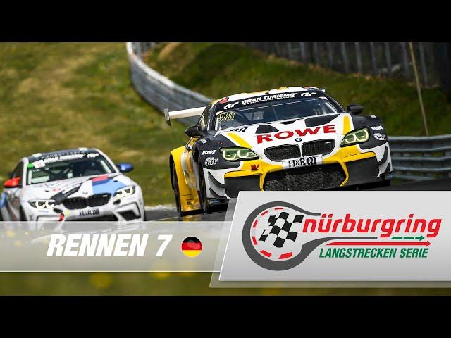 NLS 7: ROWE ADAC 6h Ruhr-Pokal-Rennen, Nürburgring Langstrecken-Serie im XXL-Stream