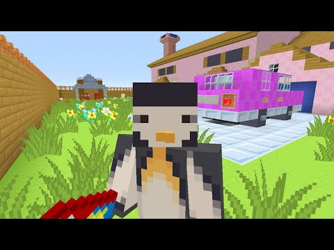 Minecraft XBOX Murder Mystery - The Simpsons - FOOLING EVERYONE!