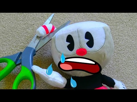 Cuphead And The Straw || Cuphead Plush Show