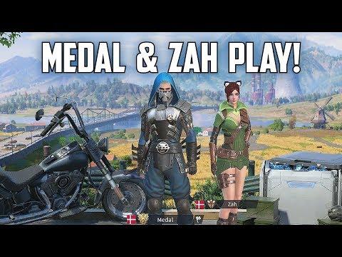 MEDAL & ZAH PLAY! - Rules of Survival Livestream