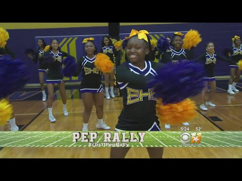 CBS 11 Pep Rally: Fired Up AT Everman High School