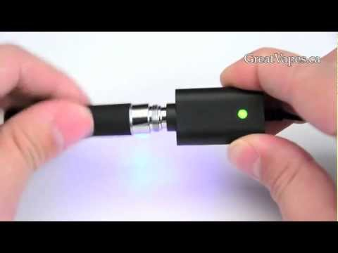 Great Vapes - Charging your eGo-C e-cigarette battery - YouTube