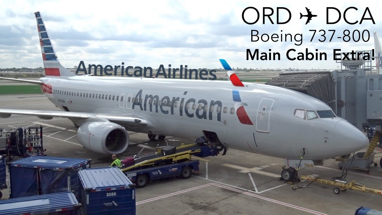Trip Report American Airlines Chicago To Washington
