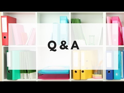 Q&A How to organize your paperwork