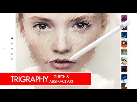 Trigraphy Photo Editor for Glitch & Abstract Art (iPad and iPhone)