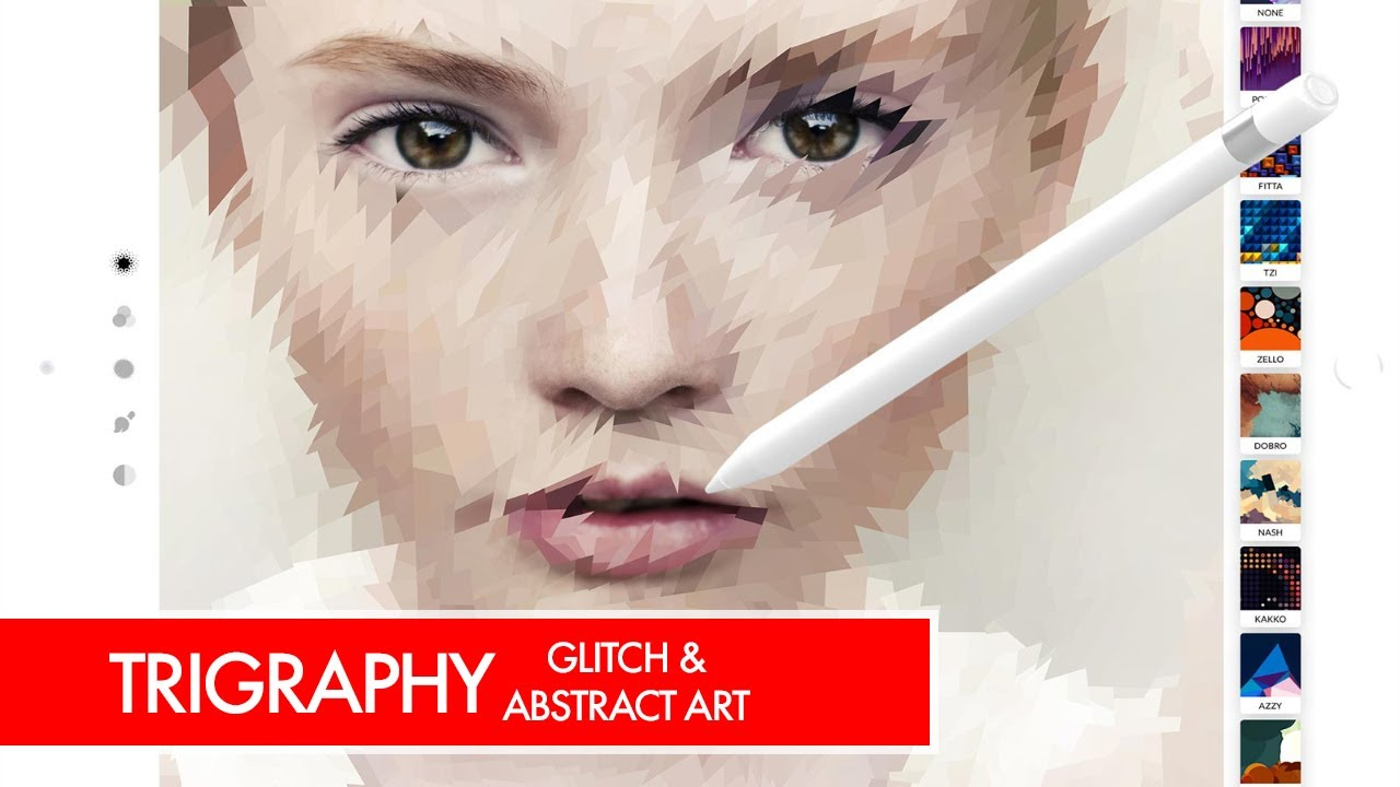 Trigraphy Photo Editor For Glitch Abstract Art Ipad And Iphone
