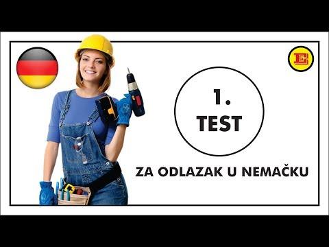 TEST elektricara za odlazak u Nemacku - TEST 1
