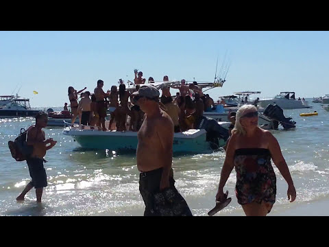 Spring Break Bikini Boat Contest 2013  @ Ft. Myers Beach, Florida 2013