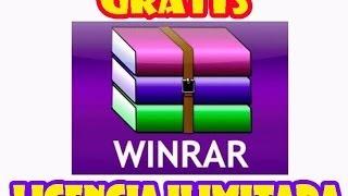 Descargar Winrar LICENCIA ILIMITADA   FULL(32 y 64bits)