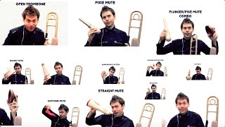 Trombone Mutes - How Different Trombone Mutes Sound