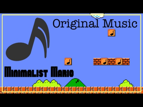 Original Music: Minimalist Mario 1-1, Part 1
