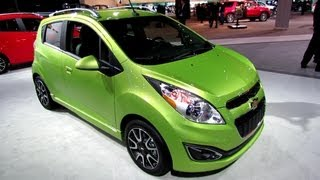 2013 Chevrolet Spark - Exterior and Interior Walkaround - 2013 Detroit Auto Show