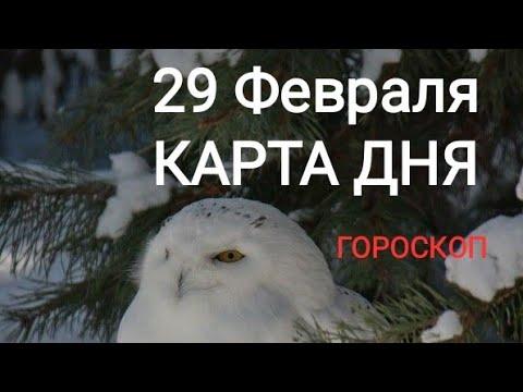 29 Февраля. КАРТА ДНЯ. ТАРО ГОРОСКОП ГАДАНИЯ