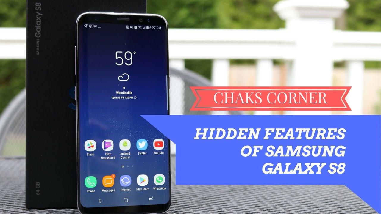 Hidden Features of Samsung Galaxy S8 - YouTube